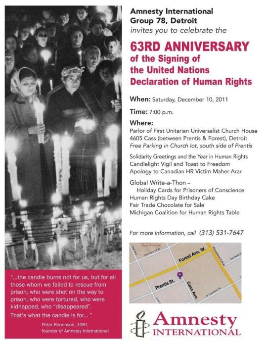 Human Rights Celebration Detroit