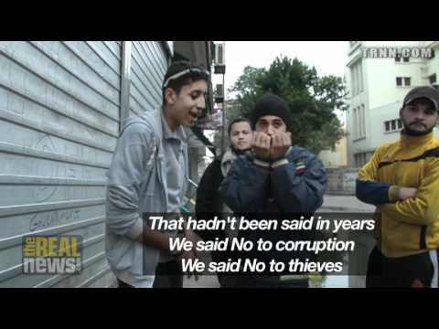 Revolutionary Rap in Tahrir Square, Cairo